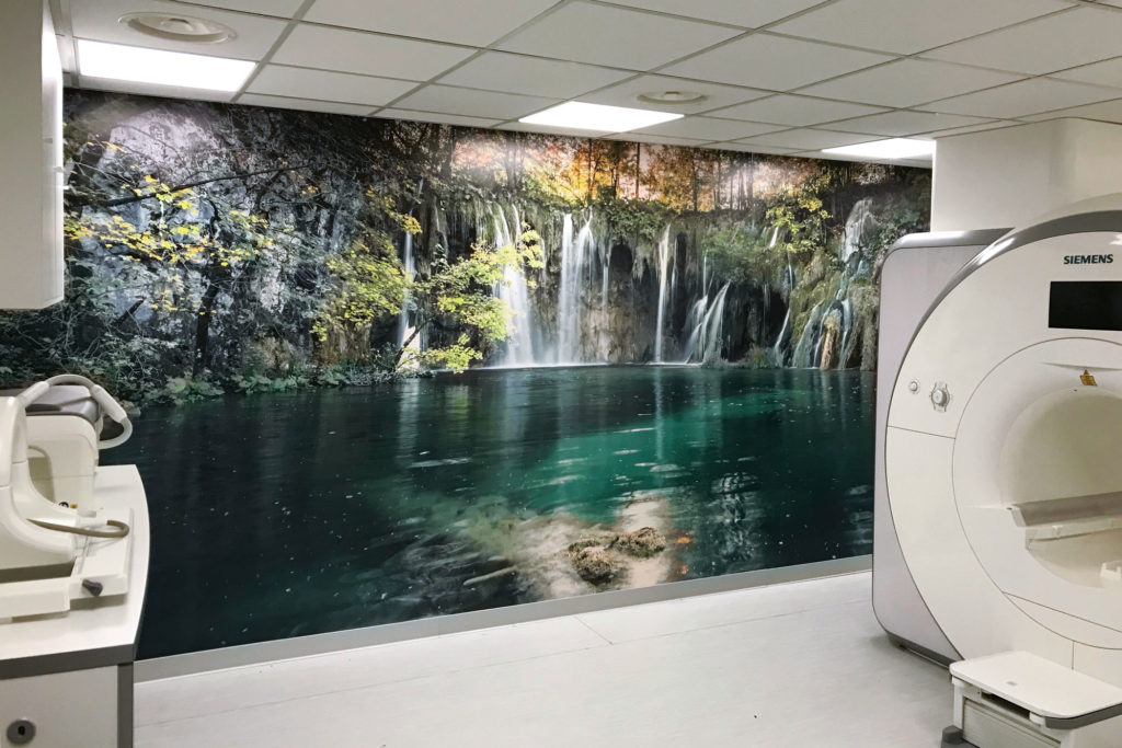 Ospedale di Tolmezzo – Locale risonanza magnetica