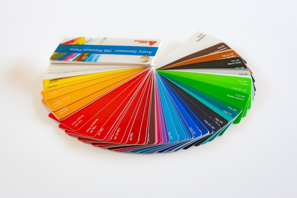 PVC colorati
